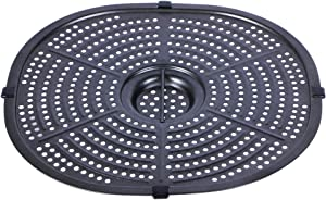 Air Fryer Replacement Crisper Plate For Power XL Gowise 7QT Air Fryers,Air Fryer Grill Pan,Air fryer Accessories,Dishwasher Safe, Nonstick Coating