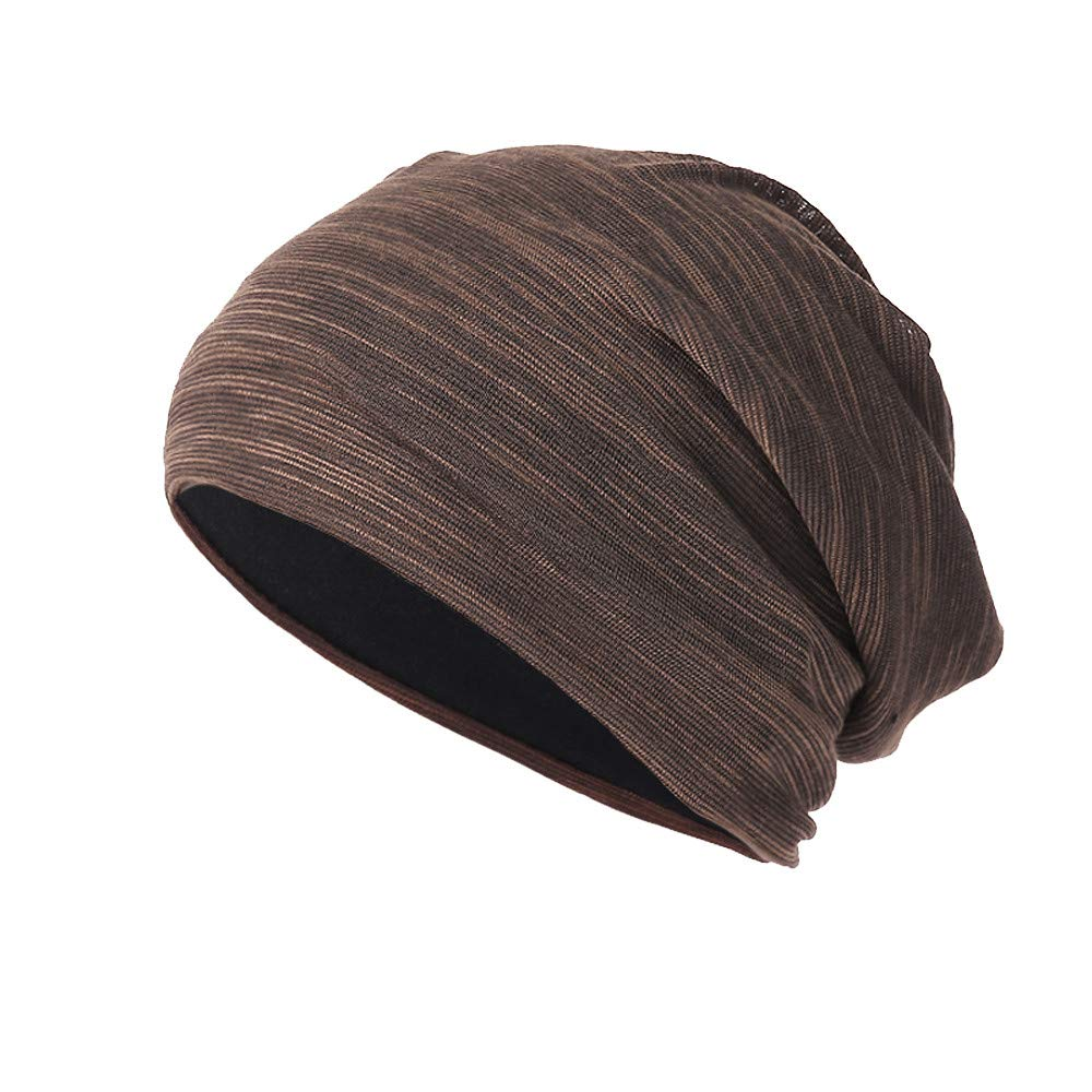 DEATU New Knit Beanie for Women & Men Hedging Head Hat Headwear Cap Warm Outdoor Hat