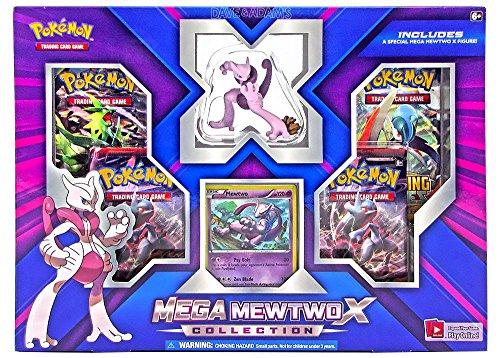 - Pokemon TCG Mega Mewtwo X Figure Collection Box