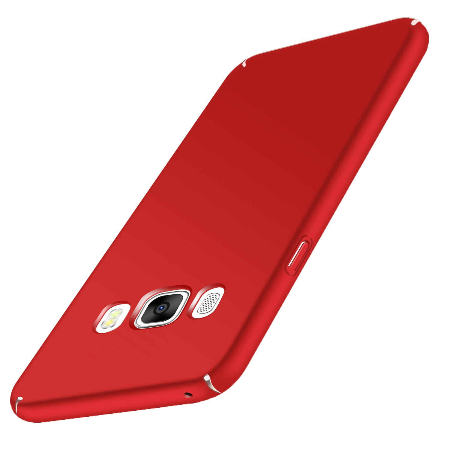 Samsung Galaxy J5 2016 Case Cover, Aostar Slim Thin Scratch Resistant Shock Proof Hard Plastic Protective Bumper Case Skin Shell for Samsung Galaxy J5 2016 (Red)