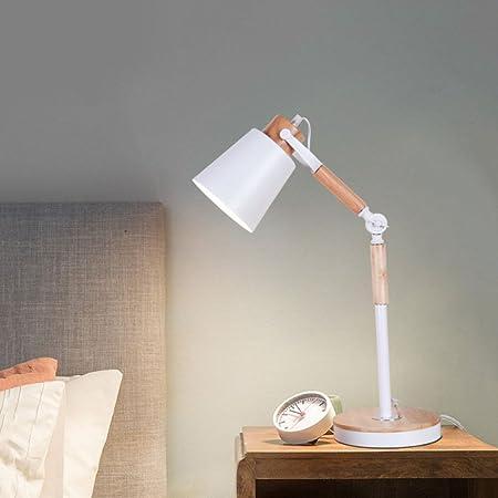 XINYU Lámpara De Mesa Minimalista Moderna Escandinava Dormitorio ...