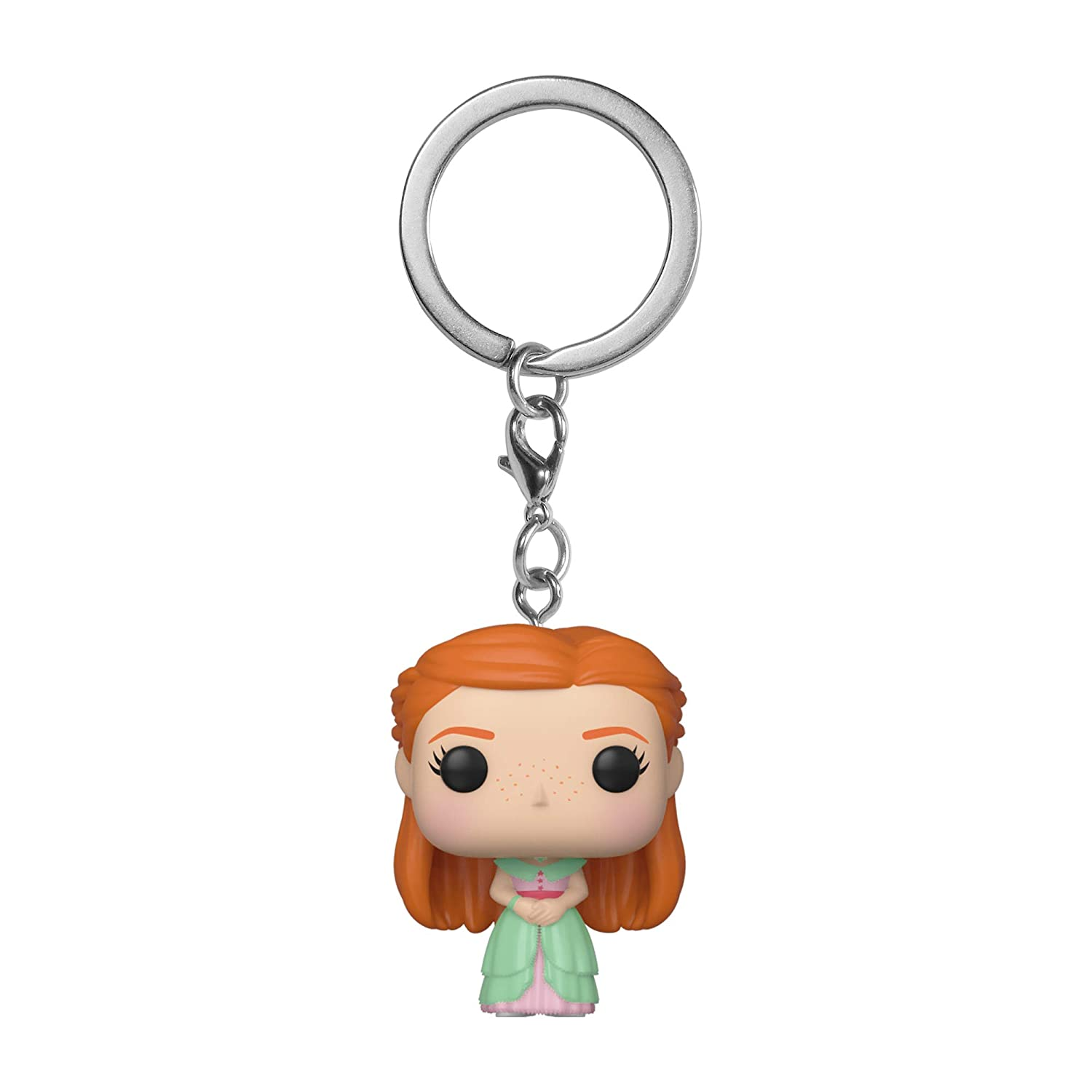 Amazon.com: Funko Pop! Keychains: Harry Potter - Ginny (Yule ...