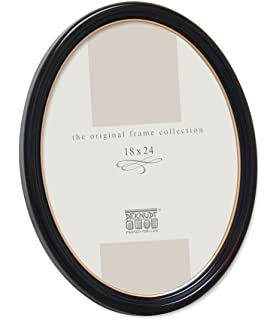 Wide Molding with Glass Front Wood Side Orbis 5x7 Picture Frames 2 Pack Brown Wall Hanging and Tabletop Display