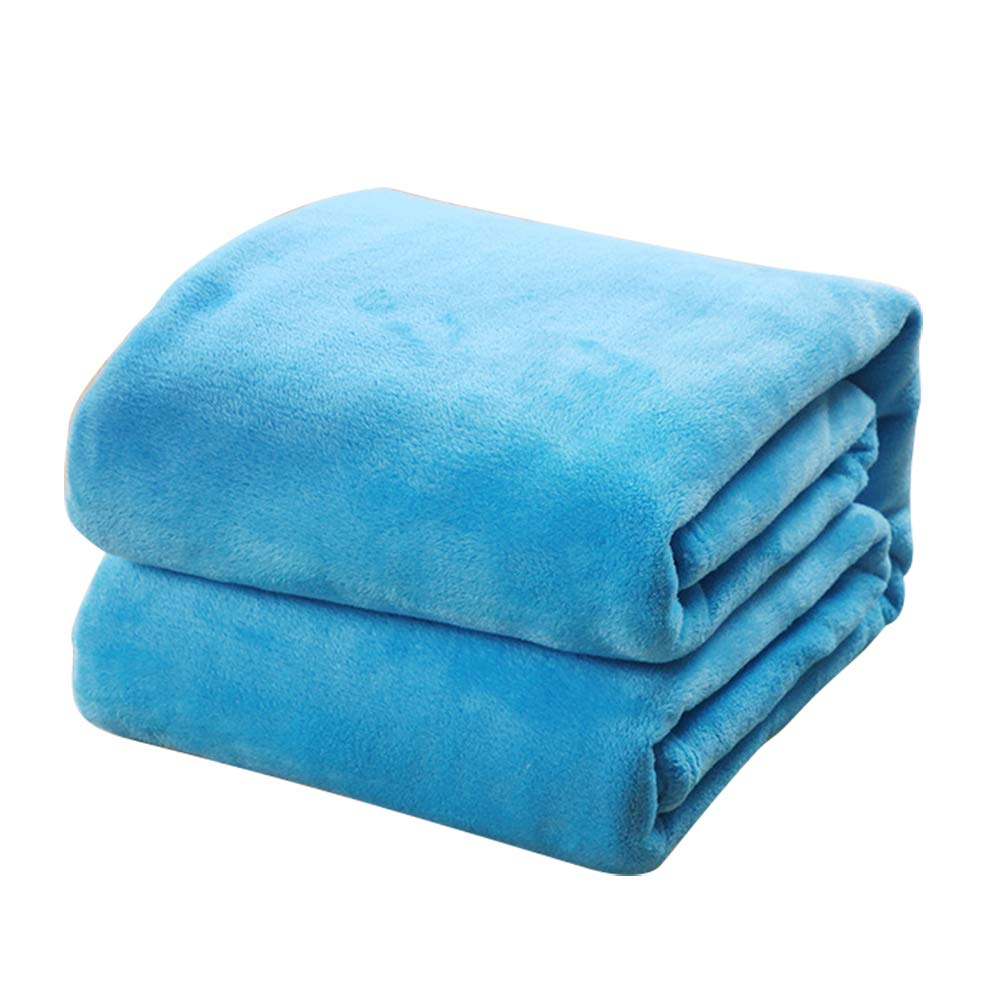 70CM Qifumaer Couvertures Plaid Doux Chaude Couverture pour Enfants Animaux de Compagnie pour Canap/é-lit Couch Sofa Size 50