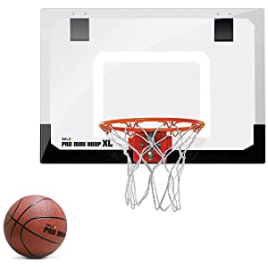 SKLZ Pro Mini Basketball Hoop with Ball,XL (23 x 16 inches)