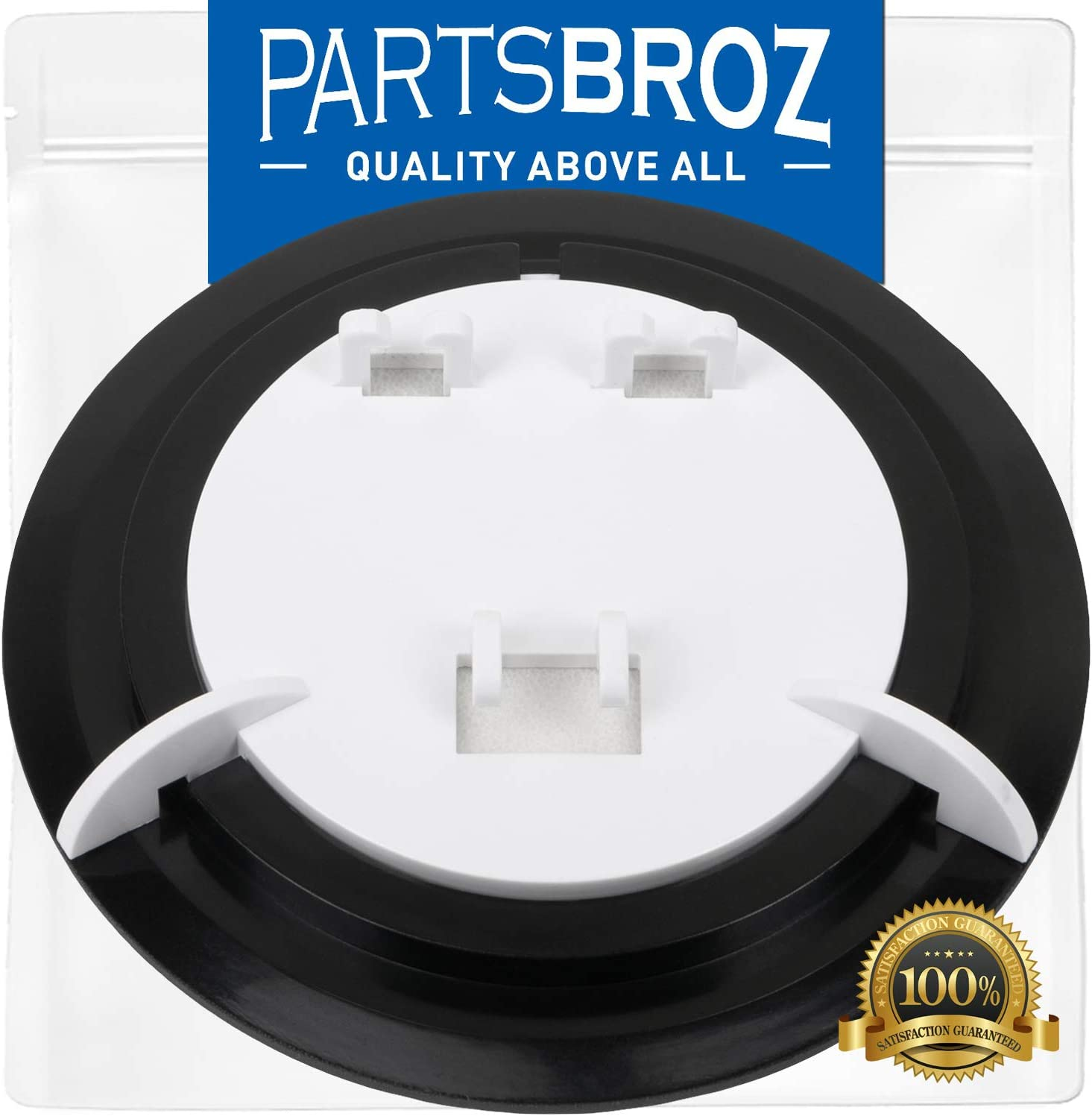 WR17X11653 Ice Door Flapper by PartsBroz - Compatible with GE Refrigerators - Replaces AP3672582, 1032671, AH964304, EA964304, PS964304, WR17X3093, WR17X3492