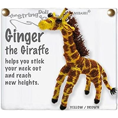 Kamibashi Ginger the Giraffe Original String Doll Gang Keychain Toy: Toys & Games [5Bkhe1400465]