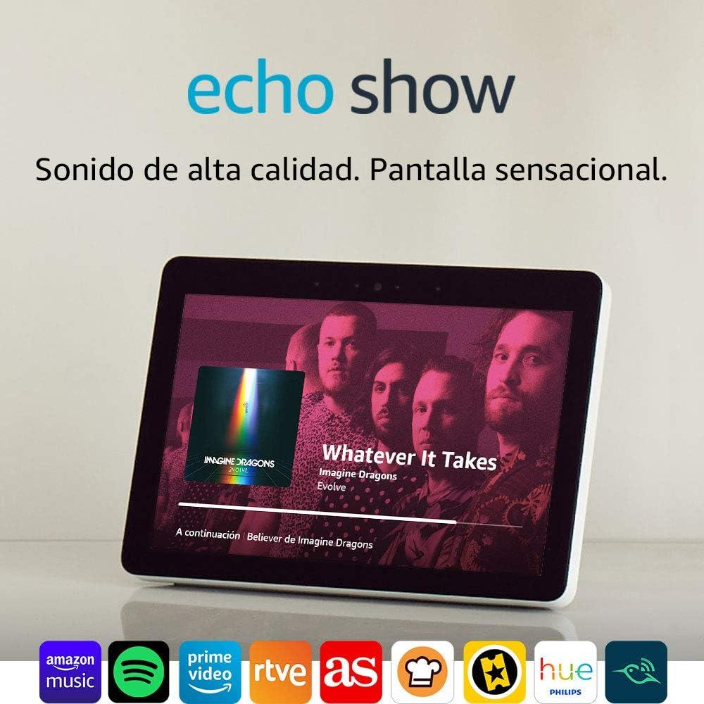 Echo Show (2.ª generación) Reacondicionado Certificado – Sonido de ...
