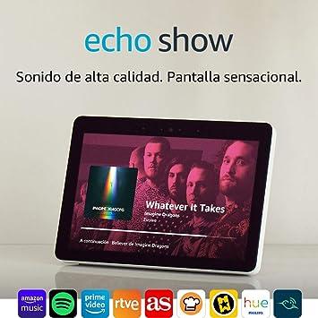Echo Show (2.ª generación) – Sonido de alta calidad y sensacional pantalla