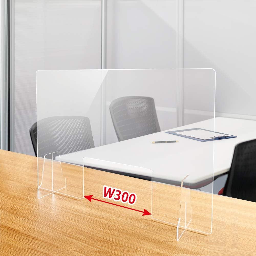 高透明度アクリル板採用 衝突防止 W300mm窓付き