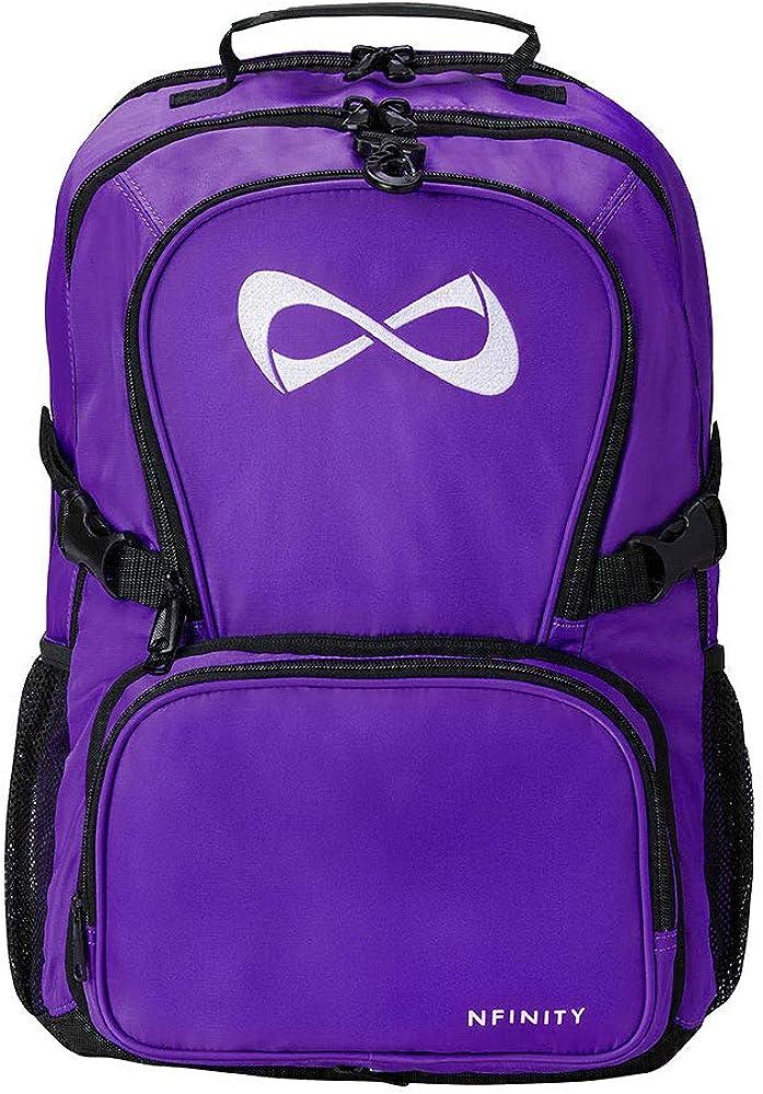 Purple Classic Backpack – White Logo