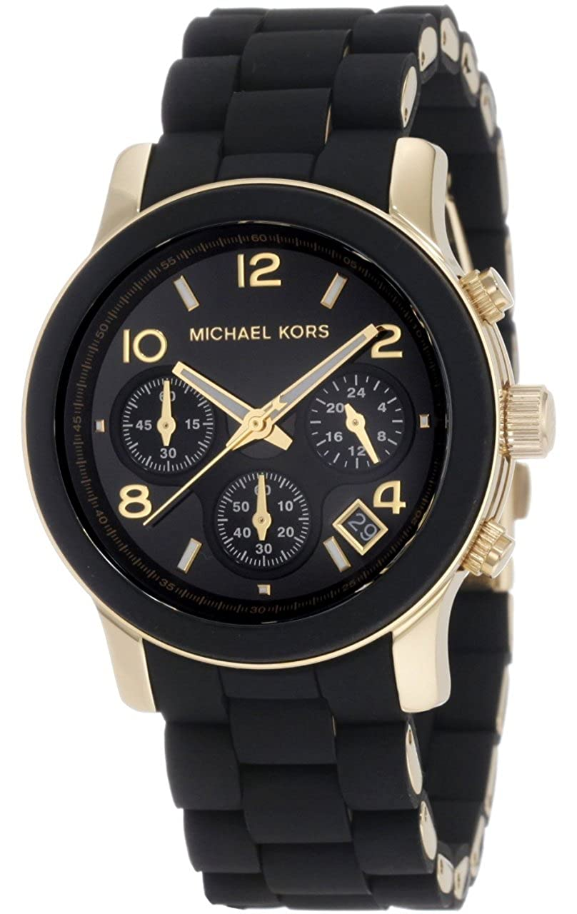 Michael Kors Women s MK5191 Runway Black Stainless Steel Watch