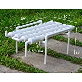 36 Holes Hydroponic Site Grow Kit Deep Water Culture Garden System