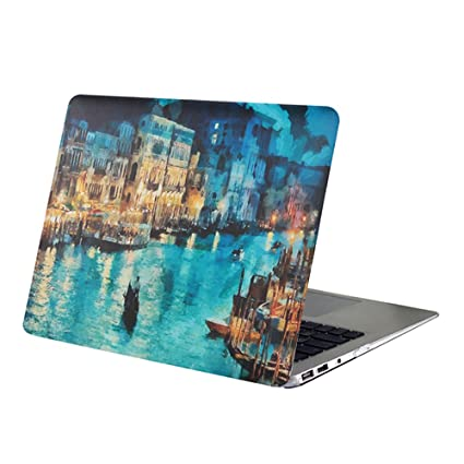 factory price 83bb4 a2f4b Macbook Air 13 Inch Case,YMIX Hard PC Protective Case Smooth Rubberized  Cover for (Model A1466 & A1369) Apple MacBook Air 13.3 Inch (Venice)