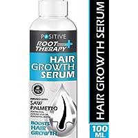 POSITIVE Root therapy Plus+ Hair Growth Serum   Saw Palmetto, Biotin, Pea Protein, Glycine Soja Oil, Pentavitin & Biotin   100 ML
