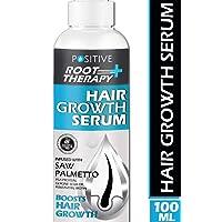 POSITIVE Root therapy Plus+ Hair Growth Serum | Saw Palmetto, Biotin, Pea Protein...