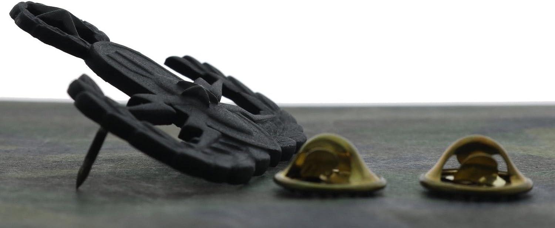 Army Master EOD Matt Black 1 3//4 inch Hat Pin H176201D183