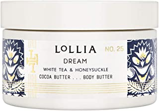 product image for Lollia Body Butter   Nourishing Body Moisturizer   Hydrating and Smooth   Finest Ingredients Including Shea Butter & Cocoa Butter   5.5 oz/155 g