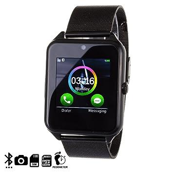 DAM - Smartwatch Phone Ak-Z60 Black. Cámara de fotos y videos incorporada de 2mpx. Posibilidad de tarjeta SIM y tarjeta micro SD hasta 32Gb. ...