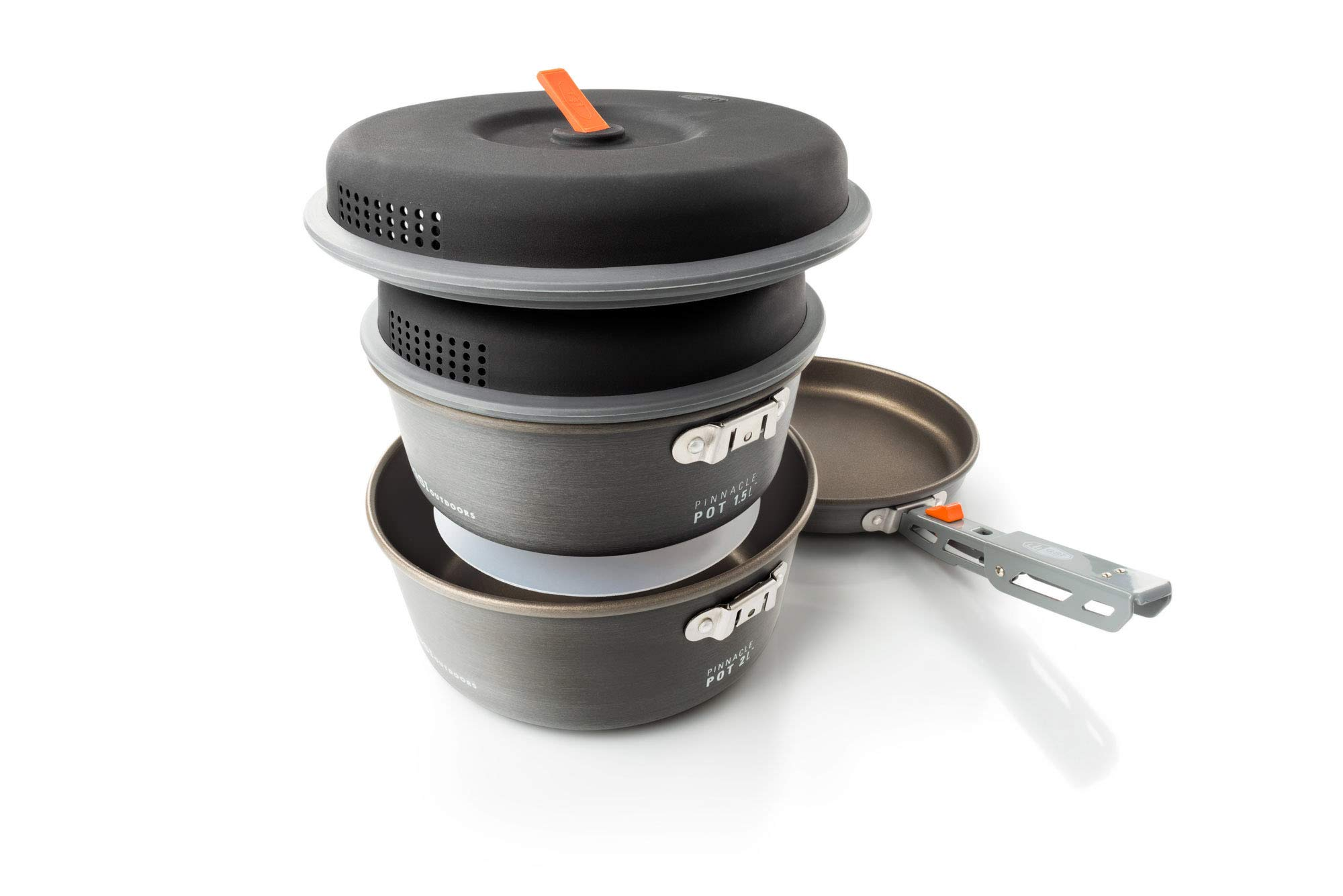 GSI Outdoors - Pinnacle Base Camper, Camping Cook Set, Small, Superior Backcountry Cookware Since 1985 by GSI Outdoors