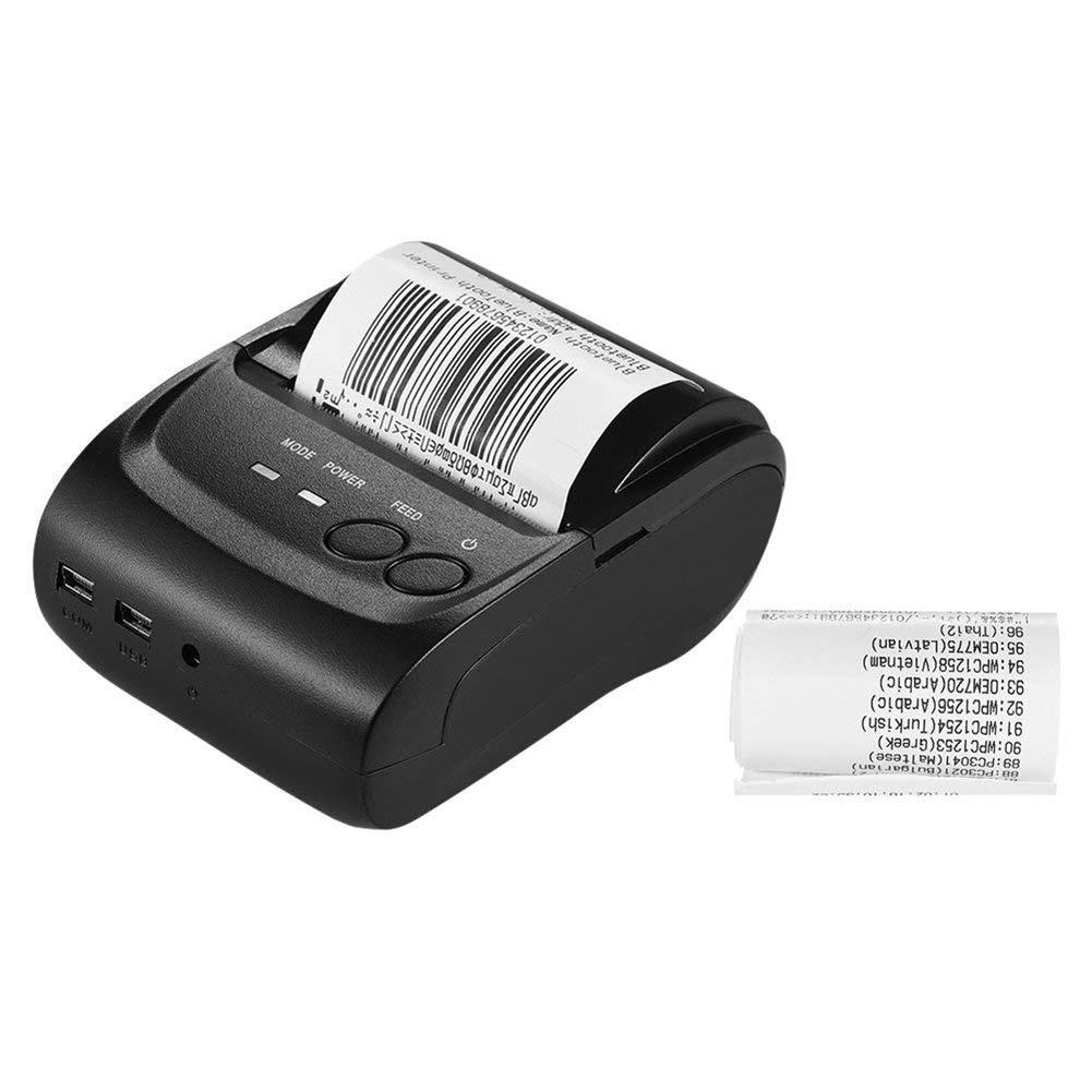 FENGT POS-5802 Mini-Ticket De Réception D'imprimante Thermique USB sans Fil Portable Impression POS pour iOS Windows Android