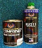 House of Kolor S2-25 SHIMRIN2 Jet Black with RU311 Reducer 1 Quart KIT