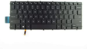 Replacement Keyboard Compatible with Dell Inspiron 13 5368 5378 5370 5379, 15 5568 5578 5579 Series Laptop with Backlit US Layout