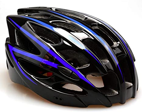 Blue Road Bike Bicycle Cycling Helmet Headpiece Protective Head Cover