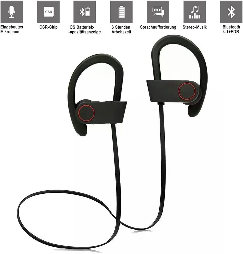 Bluetooth Auriculares, U8 Bluetooth Headset Stereo Wireless