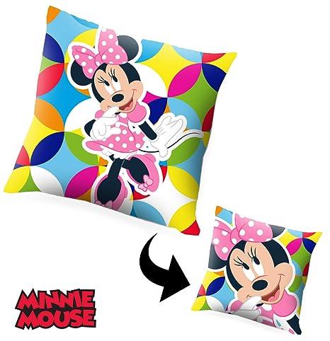 Desconocido Kids Minnie Cojín, Multicolor, 40 X 40 Cm ...
