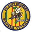 "US Navy Seabees Vietnam Veteran 4"" Patch from MilitaryBest"
