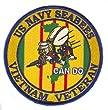 "US Navy Seabees Vietnam Veteran 4"" Patch from MilitaryBest"