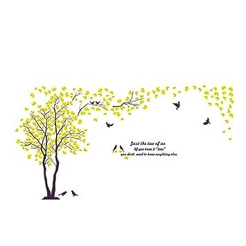 Vosarea 3d Acrylique Amoureux Fleur Oiseaux Miroir Stickers Muraux