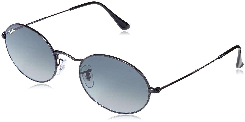 57f59e99232 Ray-Ban    Round Metal Black Sunglasses 0RB3447N 002 71 53 (Diameter ...