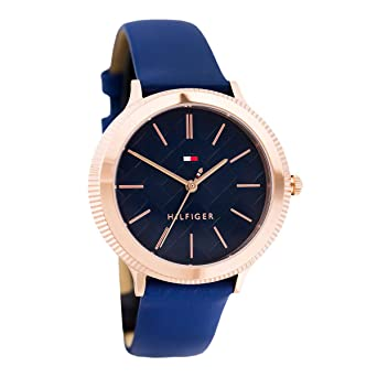 Amazon.com: Tommy HilfigerLadies Blue Casual Quartz Tommy Hilfiger Candice 1781860: Watches