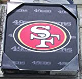 NFL San Francisco 49ers Neoprene Coaster, 4-Pack