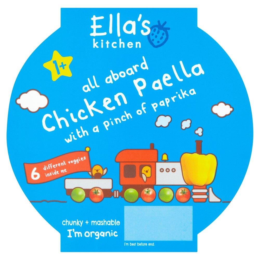 Ella\'s Kitchen Stage 1 Plus Chicken Paella with pinch of Paprika 200 ...
