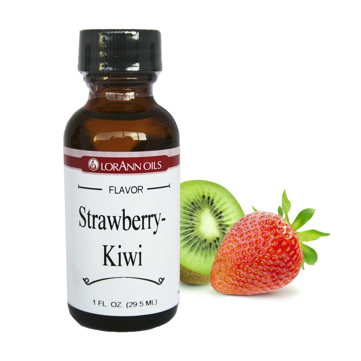 LorAnn Super Strength Strawberry-Kiwi flavor , 1 once bottle