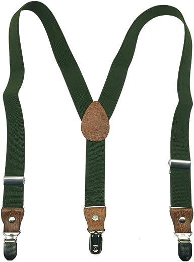 AINOW Kids and Baby Boys Girls Elastic Camouflage Y-Back Adjustable Elastic Suspenders