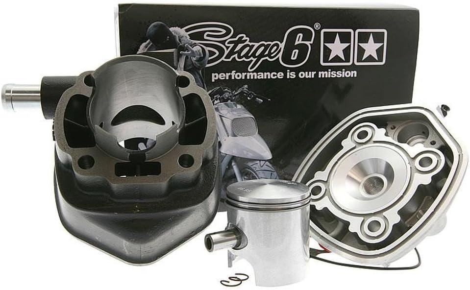 wasser 10mm MALAGUTI F12 R LC Zylinder Kit STAGE6 Streetrace 70ccm