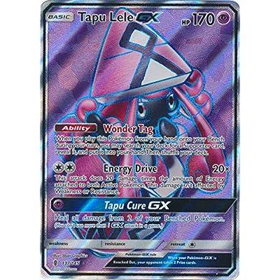 Tapu Lele GX 137/145 - Full Art - Guardians Rising - NM/M - Guaranteed Authentic Card: Toys & Games