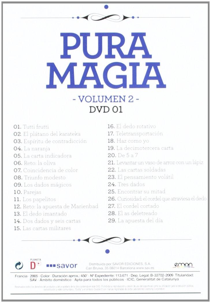 Amazon.com: Pack Pura Magia 2ª Parte [Import espagnol ...
