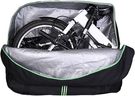 WANDERVOGEL Bolsa de Transporte para Bicicleta Plegable de 14 ...