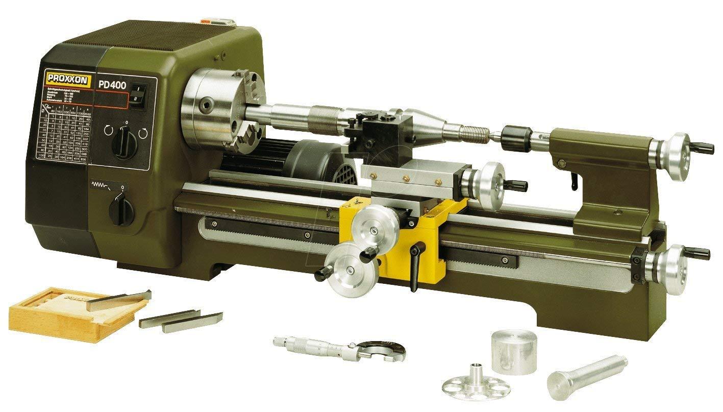 Proxxon Micromot PD 400 Prä zisions-Drehmaschine 550 W 230 V 24 400 24400