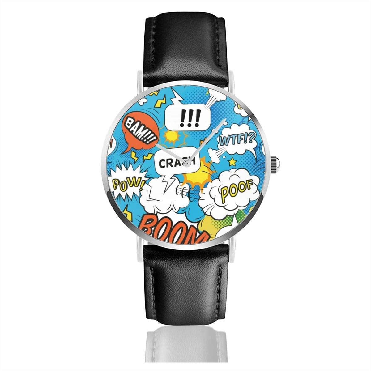 Reloj de Pulsera con diseño de Burbujas de cómic con Palabras ...