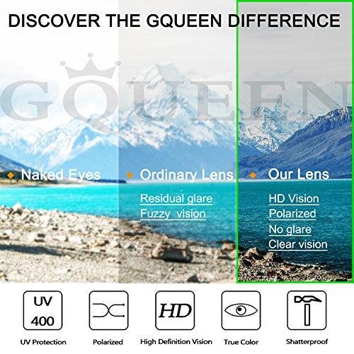GQUEEN polarizadas Steampunk 2 protección sol Plateado Metálico Retro Gris gafas UV400 con redonda y mujeres hombres de para MTS2 rSqFx0rd