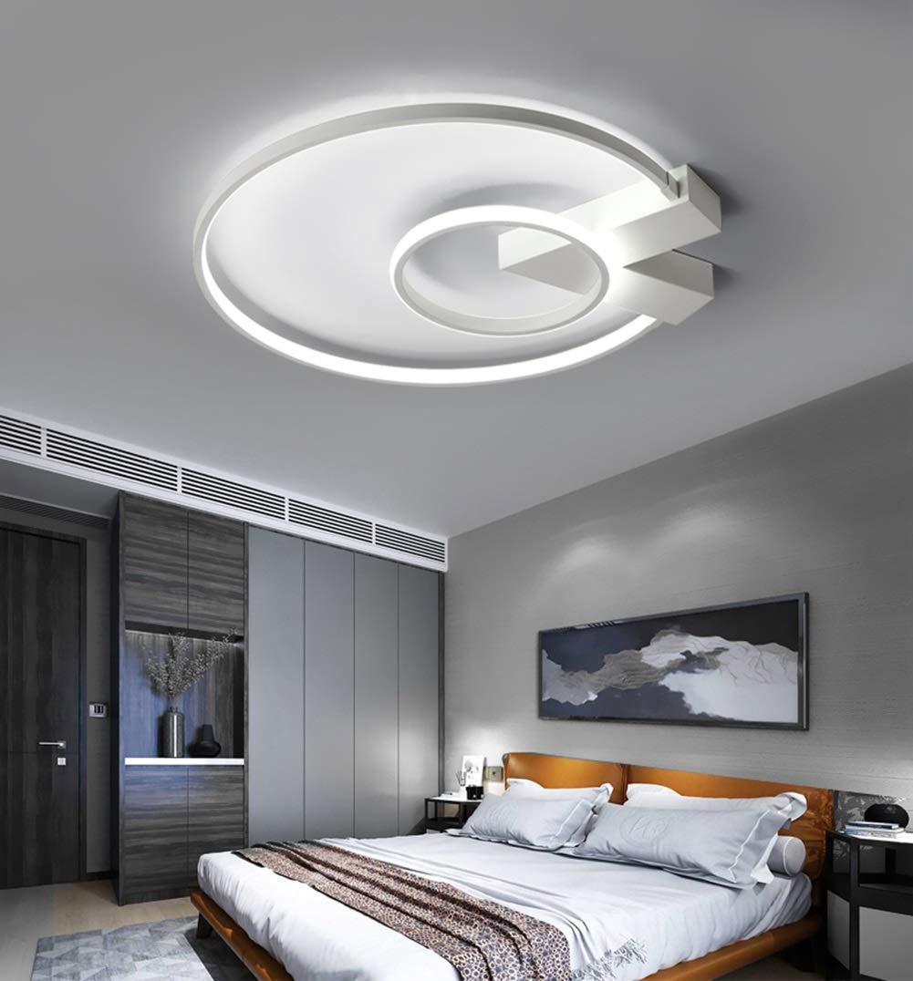 KAIRRY LED Deckenlampe Deckenleuchte Deckenlampe LED 52cm 38W Wohnzimmerlampe Eisen Kronleuchte Kinderzimmer Lampe Esszimmerlampe Schalfzimmerlampe Badezimmerlampe Flurlampe (Farbe   Stufenloses Dimmen) a0fd10