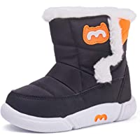 BMCiTYBM Toddler Snow Boot for Girl Boy Little Kid Winter Outdoor Shoes