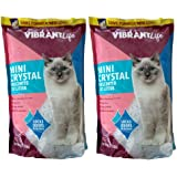 Vibrant Life Formerly Mimi Pet Cat Litter Mini Silica Gel Crystals, Ultra Absorbent, Unscented and Lightweight 4-Pound…