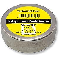 TechnikRat TT15 Soldeerpunt Reactivator Loodvrij 15 g blik